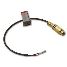Adapter cable for the retrofit of an after-market rear view camera for Land Rover Touch-Screen Navigation