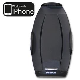 Dension IPH1GWP - iPhone 4S, 4, 3GS, 3G Car Kit Holder for Gateway Retail Package with hands-free calling