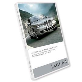 Navteq T1000-18189 - Jaguar XJ, X-Type, S-Type - Western Europe DVD 2011/2012