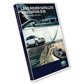 Navteq Western Europe - T1000-18194 - Navigation software for LAND ROVER (Range Rover / Discovery 3) 2011/2012 (DVD)