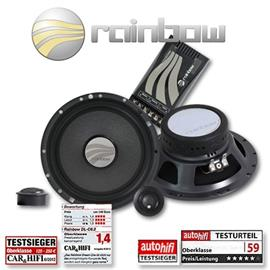 RAINBOW 231170 - DL-C6.2 Speaker 2-Way Compo Set 150W 6.5 inch 165 mm