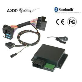 "Kufatec 36429 - FISCON Bluetooth handsfree set for Audi ""Basic"" with Quadlock"