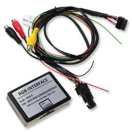 Audio-video-input Interface for VW and Skoda with navigation system MFD2 16:9 Display