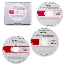 Audi MMI High Update pack CD 5570 / Operating Software (3CDs) for MMI(2G) for Audi A4 (B8/8K) A5 (8T)