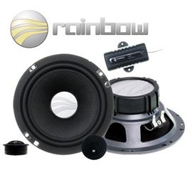 RAINBOW 231212 - 150 Watt 16,5 cm (6.5 inch) Experience Line EL-C6.2 Speaker 2-Way Compo Set