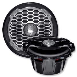 ROCKFORD FOSGATE PM265B - marine coaxial loudspeaker system (16.5 cm / 6.5 inch / 85 Watts RMS / 170 Watts max. / black)