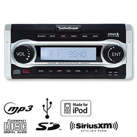 ROCKFORD FOSGATE  RFX9700CD - Marine Tuner (black / MP3 / USB / iPod / CD SiriusXM)