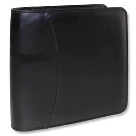 Leather CD/DVD - protective case (15,5cm x 16,2cm x 4,5cm / for 28 CDs/DVDs / black)