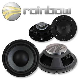 RAINBOW IL-C8.3 - 3-Way Component System - VW Golf 5 / Golf 5 plus Front (150W / 200 mm / 7,9 Zoll)