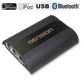 Dension Gateway 500 - GW52MO1 - iPod/iPhone/USB-Interface for Audi, BMW, Mercedes, Porsche (Single FOT)