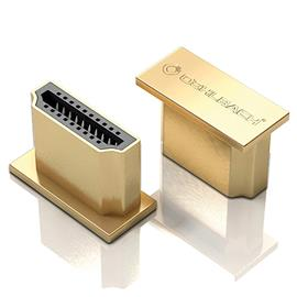 Oehlbach 55062 - XXL® HS Caps - HDMI protection caps (4 pcs / gold)