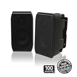 FUSION MS-BX3020 - Marine 2 Way Cabin Speakers (100W / 3Inch/7,62cm / black)