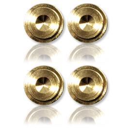 Oehlbach 55043 - Washer 20 - Unterlegscheibe für Spikes (4 Stk / gold)