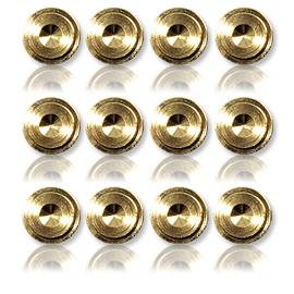 Oehlbach 55043 - Washer 20 - Washer for spikes (12 pcs / gold)