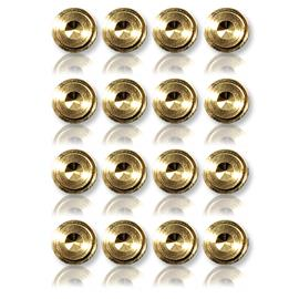 Oehlbach 55043 - Washer 20 - Washer for spikes (16 pcs / gold)