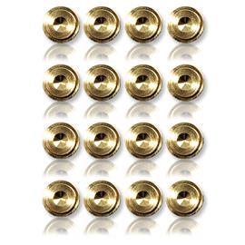 Oehlbach 55043 - Washer 20 - Unterlegscheibe für Spikes (16 Stk / gold)