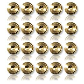 Oehlbach 55043 - Washer 20 - Washer for spikes (20 pcs / gold)