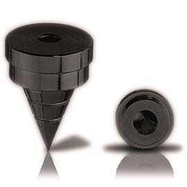 Oehlbach 55041 - Spike S 2000 - Spikes for loudspeakers (1x4 pc / black)