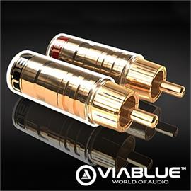 ViaBlue 30512 - RCA Plugs (4 pcs / gold plated)