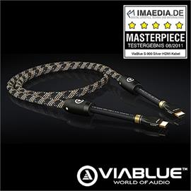 ViaBlue 20015 - S-900 Silver - High-Speed HDMI® cable (3,0 meter / 1.3C)