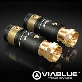 ViaBlue 30936 - T6s - F plugs - solder version (2 pieces / gold plated)