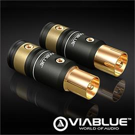 ViaBlue 30906 - T6s - Antenna plug (2 pcs / gold plated)