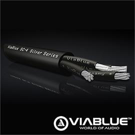 ViaBlue 24300 - SC-4 Silver-Series - Loudspeaker cable (20,0m / black / 4x4qmm / Bulk Cables)