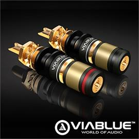ViaBlue 30030 - T6s - Binding posts  (2 pcs / gold plated)