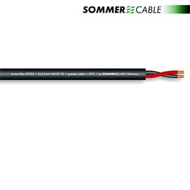 Sommer Cable SP225 - SC-MERIDIAN  - Speaker cable (1 m / 2x2,5 qmm / OFC / black)