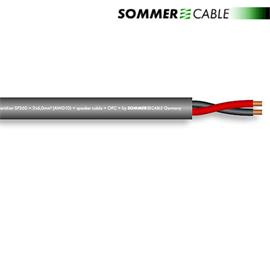 Sommer Cable SP260 - SC-MERIDIAN - Speaker cable (1 m / 2x6,0 qmm / OFC / dark gray)