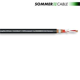 Sommer Cable 238 Plus - SC-GALILEO - Microphone Cable (1 m / 2 x 0,38 qmm / OFC / black)