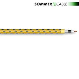 Sommer Cable 300-0107 - SC-CLASSIQUE  - Guitar Cable Vintage Style(1 m / 1 x 0,50 qmm / OFC / tweed-yellow)