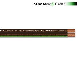 Sommer Cable 240 MKII - SC-ORBIT  - Speaker cable (1 m / 2x4,0 qmm / OFC / black transparent )