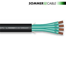 Sommer Cable SPM440 - SC-ELEPHANT ROBUST - Speaker cable (1 m / 4x4 qmm / OFC / black)