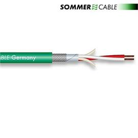 Sommer Cable SC-ALBEDO MKII - Phono Cable (1 m / 2x0,20 qmm / OFC / green)