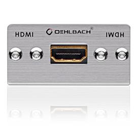Oehlbach 8810 - MMT-C HS - HDMI multimedia tray with breake out cable  (1 pc)