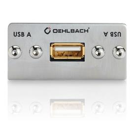 Oehlbach 8818 - MMT-C USB.2 A/B