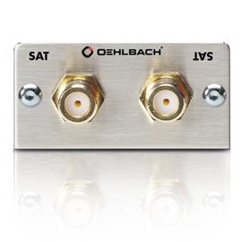 Oehlbach 8849 - MMT-G Sat SAT multimedia tray