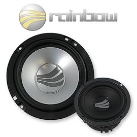 RAINBOW 231175 - Sound Line SL-C6.3 - 3-Way Speaker Compo Set (150 W / 165 mm / 6.5 inch)