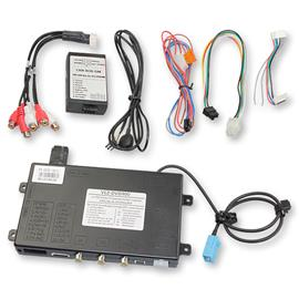 RL2-DVD900 - Video-Input without sound (2 video inputs + RGB + rear view camera input) for Opel NAVI900 / NAVI600