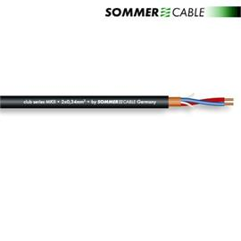 Sommer Cable 200-0051 - SC-CLUB SERIES MKII -  Microphone Cable (1 m / 2 x 0,34 qmm / 6,5mm / black )
