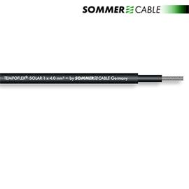 Sommer Cable 770-0401 - SC-TEMPOFLEX SOLAR - Photo-voltaic module connection cable (1 m / 1x4 qmm / 5,7 mm / black)
