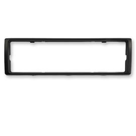 ALPINE 1-DIN ALPINE radio plate / radio frame for retrofitting ALPINE devices (1 piece / black)