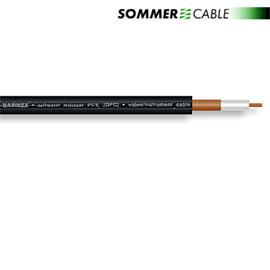 Sommer Cable 600-0241AQ - SC-AQUA MARINEX - RG59-Video 75 Ohm and Phono (1 m / 1 x 0.6/3.7L / 6,4mm / black)