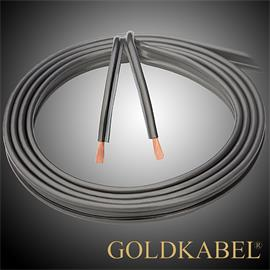 Goldkabel 70814 - SOLID 600 - Lautsprecherkabel (1m / anthrazit  / 2 x 6,0 qmm)