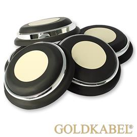 Goldkabel AS-40900 Damper Medium Set of 8 Pieces - Goldkabel - Shock Absorber / Resonance Damper (8 pcs / silver)