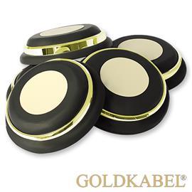 Goldkabel AS-40920 8er Set Dämpfer mittel - Goldkabel - Shock Absorber / Resonanzdämpfer (8 Stück / gold)