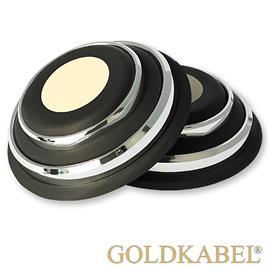 Goldkabel AS-41000 8er Set Dämpfer groß - Goldkabel - Shock Absorber / Resonanzdämpfer (8 Stück / silber)