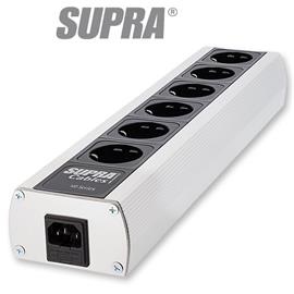Supra Cables 3024000022 - SUPRA LoRad MD06-EU MKII - multi-socket outlet (black/silver / 1 piece)