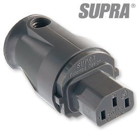 Supra Cables 3014000081 - LoRad SWF-10S - Mains plug female (1 piece / anthracite)